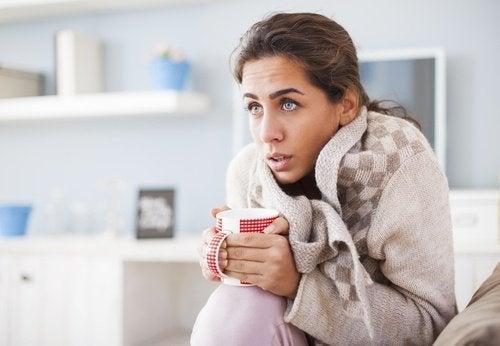 perdita di grasso sensazione di freddo