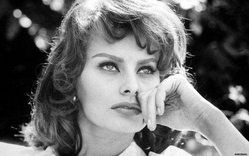 Sophia Loren da giovane