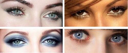 forma degli occhi e sguardo più intenso