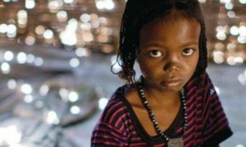 Bambina di colore