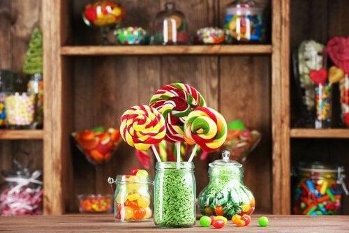 caramelle e zuccheri