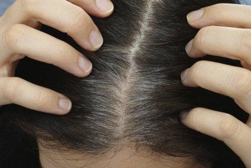 comparsa primi capelli bianchi problema di salute