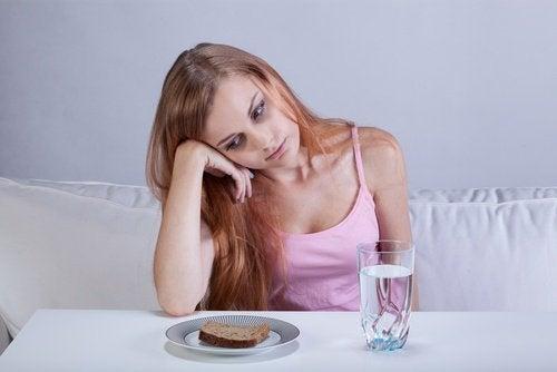 Disturbi alimentari tra i sintomi della depressione