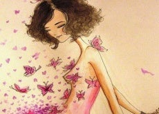 donna-farfalle senza rimorsi