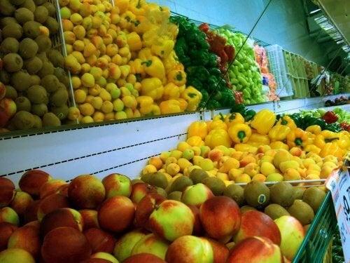 frutta e verdure per ridurre gli zuccheri