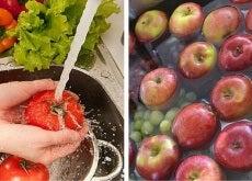 lavare frutta pesticidi