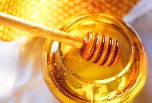 miele per sostituire gli zuccheri