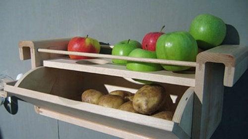 Trucco cucina patate e mele