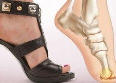 scarpa con il tacco