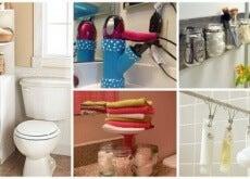soluzioni per guadagnare spazio in bagno