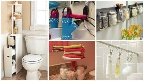 Organizzare I Cassetti Del Bagno : Guadagnare spazio in bagno grazie a consigli vivere più sani