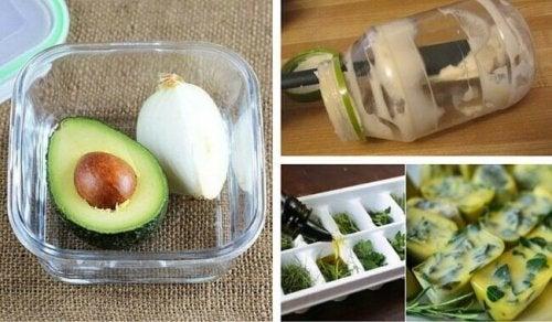 14 trucchi in cucina per evitare lo spreco di alimenti