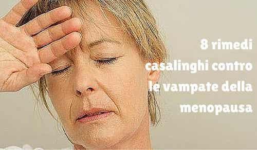 Vampate della menopausa: 8 rimedi naturali