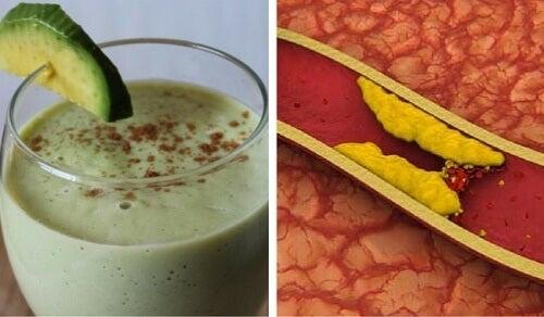 3 frullati a base di avocado per ridurre il colesterolo