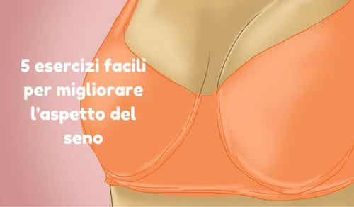 Migliorare l'aspetto del seno con 5 esercizi facili