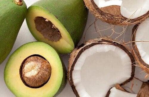 Avocado e cocco