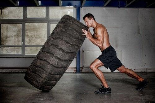 Crossfit esercizio per dimagrire