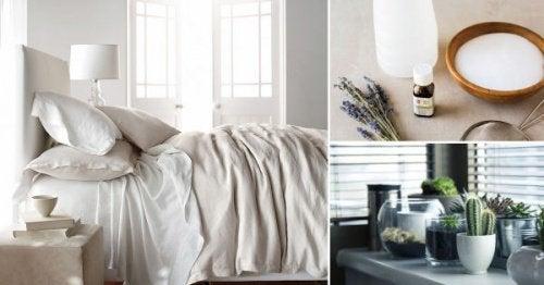 Disinfettare la camera da letto in modo ecologico