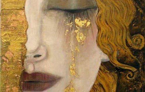 maturare lacrime donna