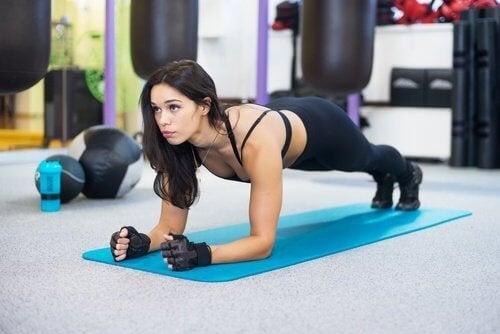 Plank grasso