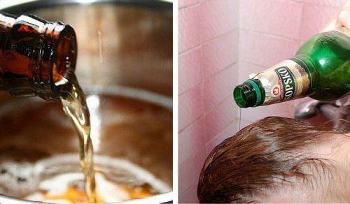 I 6 migliori usi della birra per pelle e capelli