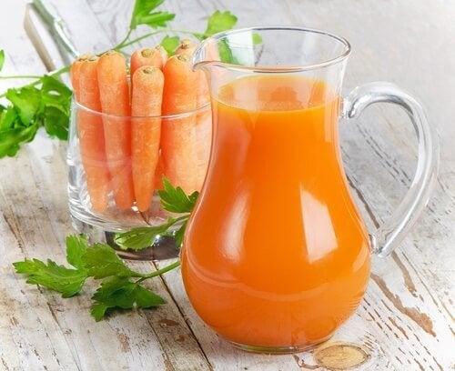 Vitamina A succo di carota