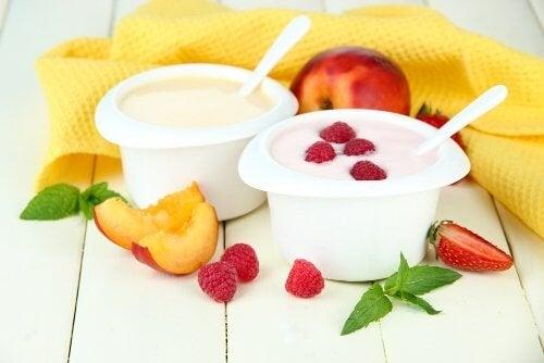 Yogurt con frutta