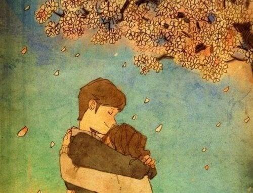 Il miglior abbraccio è quello che scaccia le paure