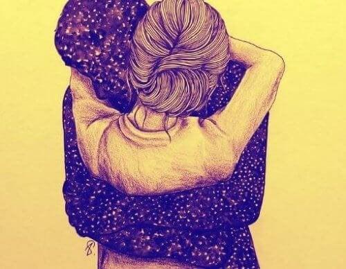 coppia abbraccio