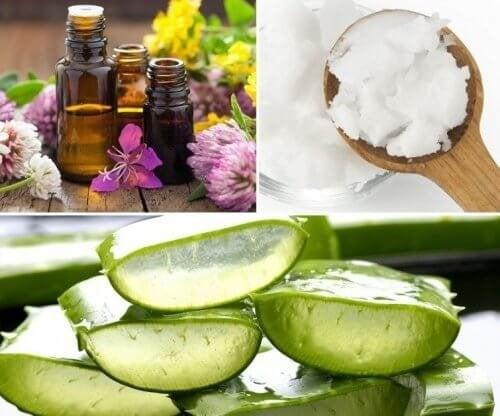 Gel naturale per gli inestetismi della pelle