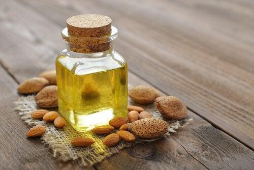 olio di mandorle per dermatite