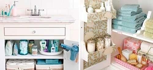 13 infallibili trucchi per un bagno ordinato e pulito