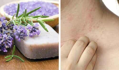 Sapone fatto in casa per pelli delicate e con dermatite