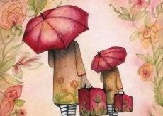 ricominciare da capo viaggiatori-con-ombrello