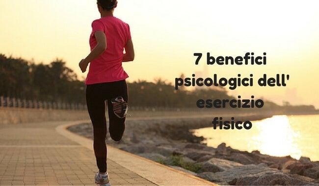 Benefici psicologici dell'esercizio fisico