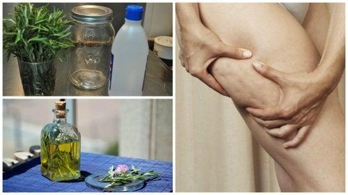Alcol al rosmarino per combattere la cellulite