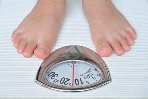 Aumento-di-peso squilibrio ormonale