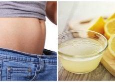 Combattere il sovrappeso con il limone