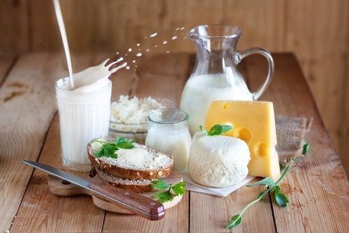 latticini gonfiore dell'addome