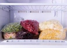 alimenti nel freezer