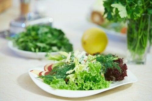 lattuga verde freezer
