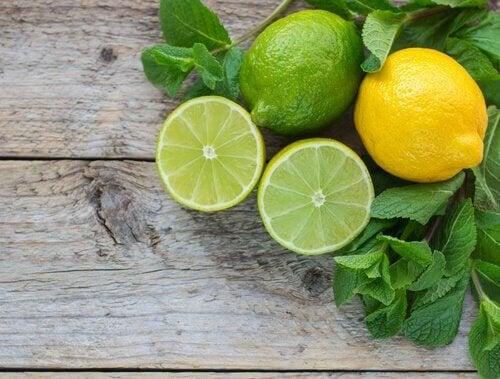Limoni per preparazione sciroppo contro i calcoli renali