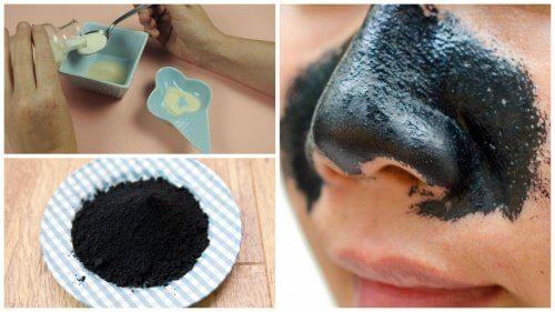 Un cerotto per rimuovere i punti neri del naso