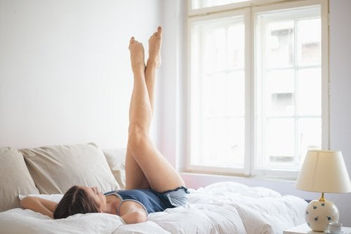 Sollevare le gambe flaccidità