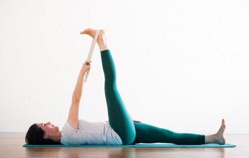 Stretching-piede nervo sciatico