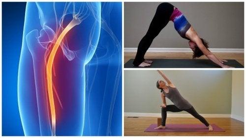 Lo yoga per alleviare il dolore del nervo sciatico