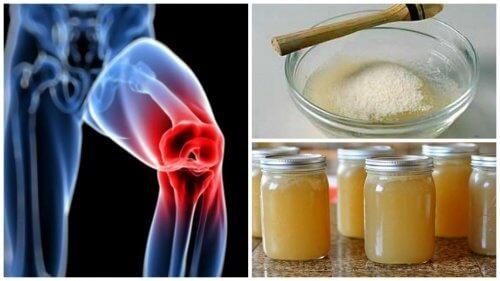 Rimedi alla gelatina per placare il dolore alle articolazioni