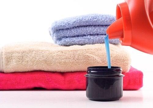 asciugamani con ammorbidenti
