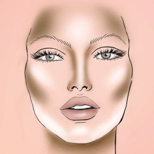 contouring viso più magro