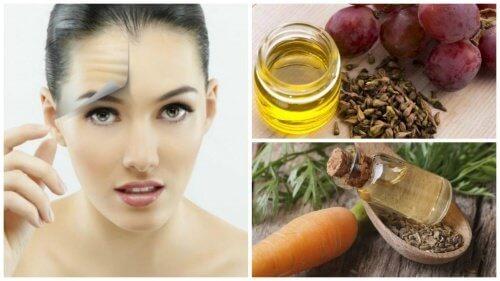 Oli per mantenere la pelle giovane e in salute, i migliori 8